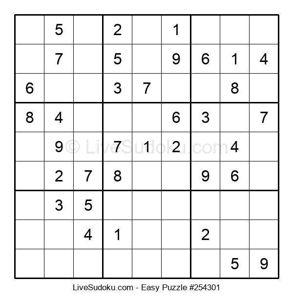 Beginners Puzzle #254301