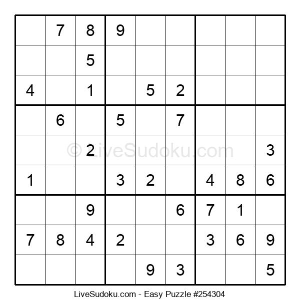 Beginners Puzzle #254304