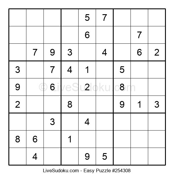 Beginners Puzzle #254308