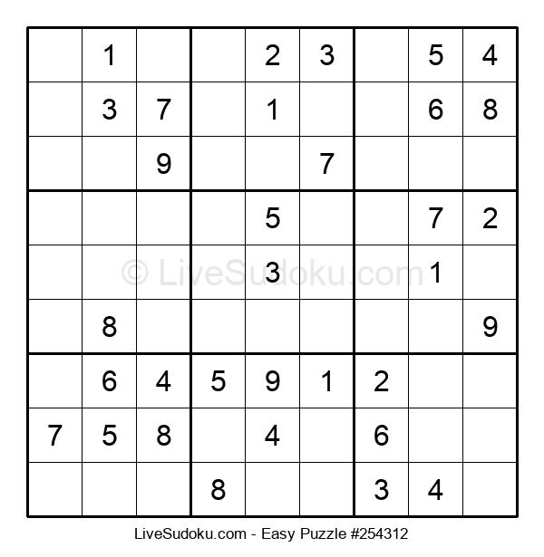 Beginners Puzzle #254312