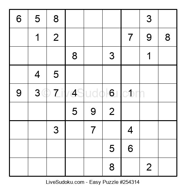 Beginners Puzzle #254314