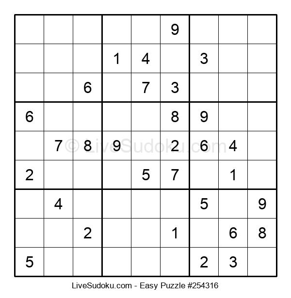 Beginners Puzzle #254316