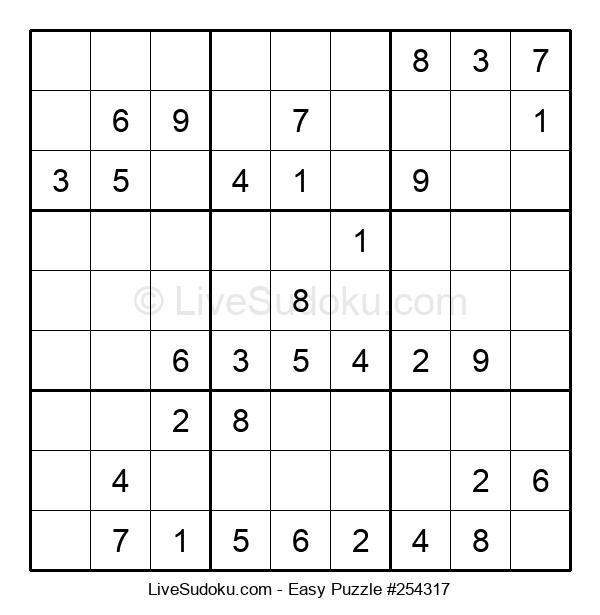 Beginners Puzzle #254317