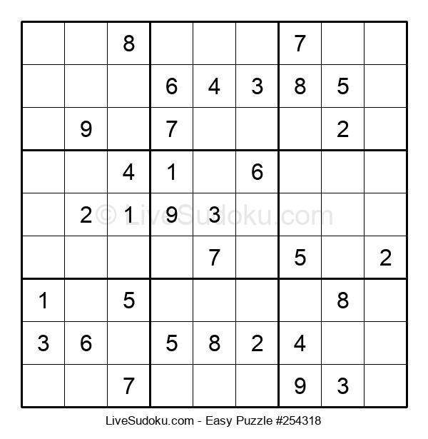 Beginners Puzzle #254318