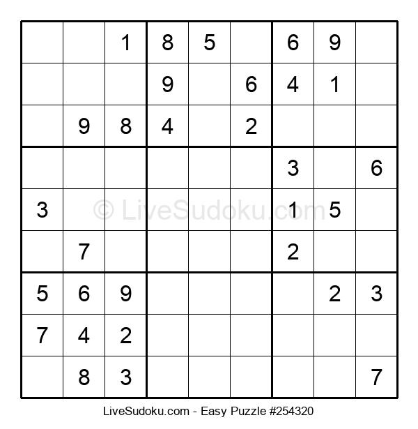 Beginners Puzzle #254320