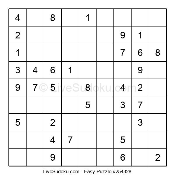 Beginners Puzzle #254328