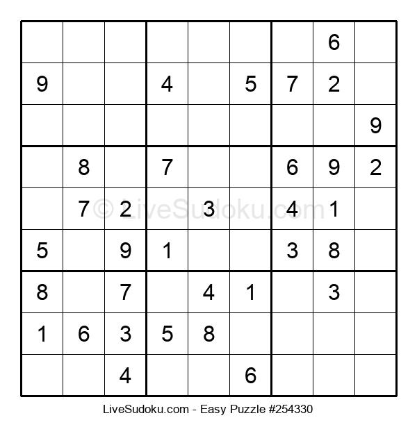 Beginners Puzzle #254330