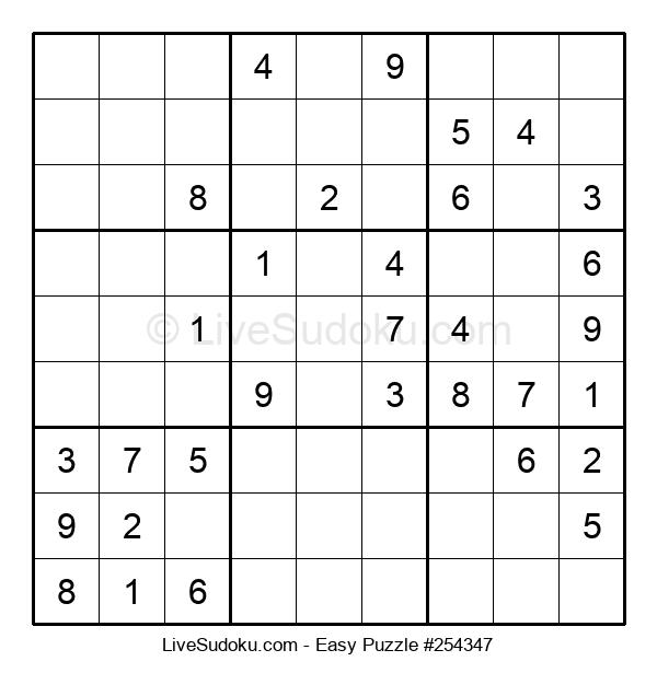 Beginners Puzzle #254347