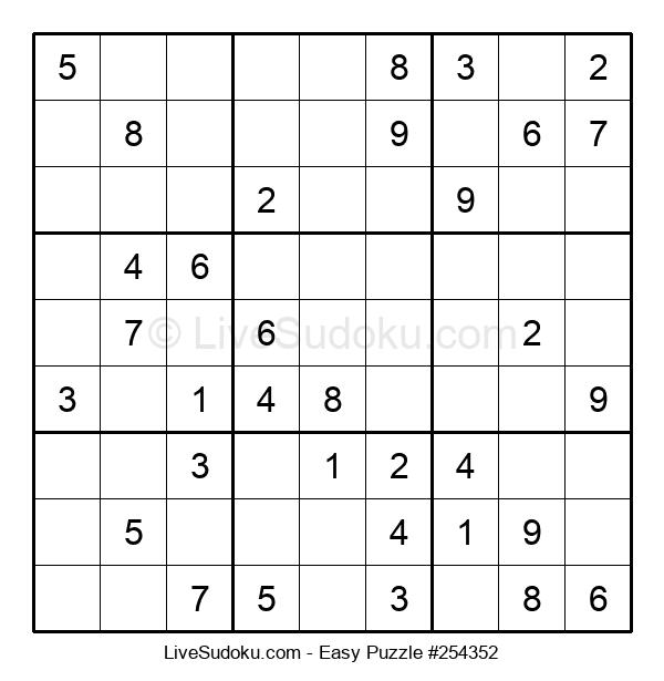 Beginners Puzzle #254352