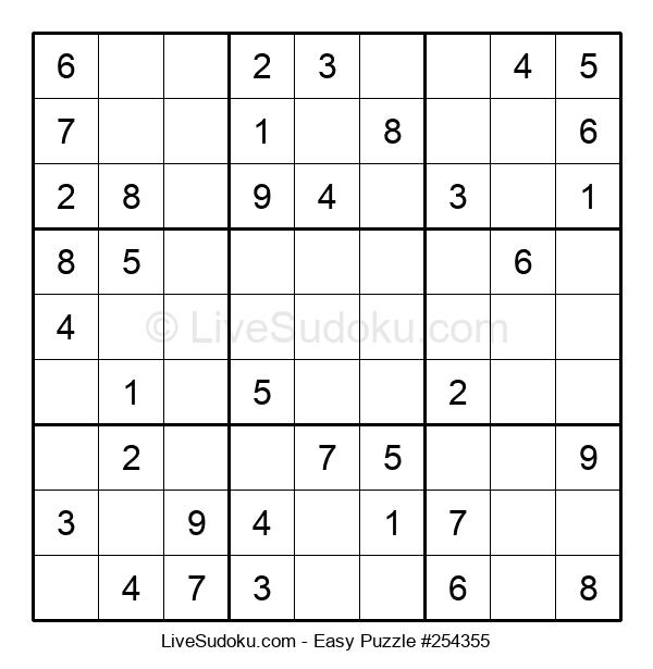 Beginners Puzzle #254355