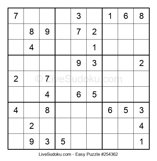 Beginners Puzzle #254362