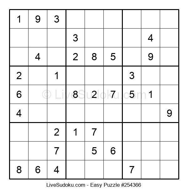 Beginners Puzzle #254366