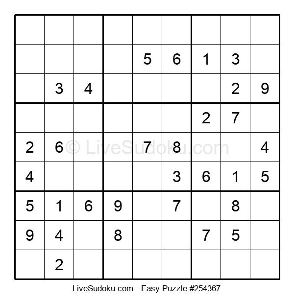 Beginners Puzzle #254367