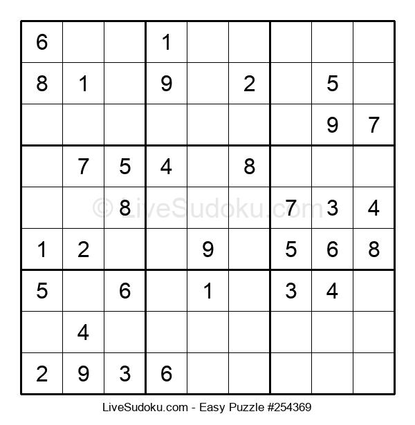 Beginners Puzzle #254369