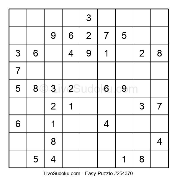 Beginners Puzzle #254370