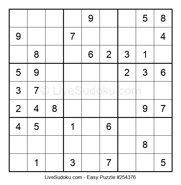 Beginners Puzzle #254376