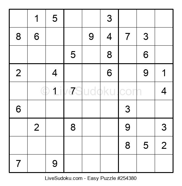 Beginners Puzzle #254380
