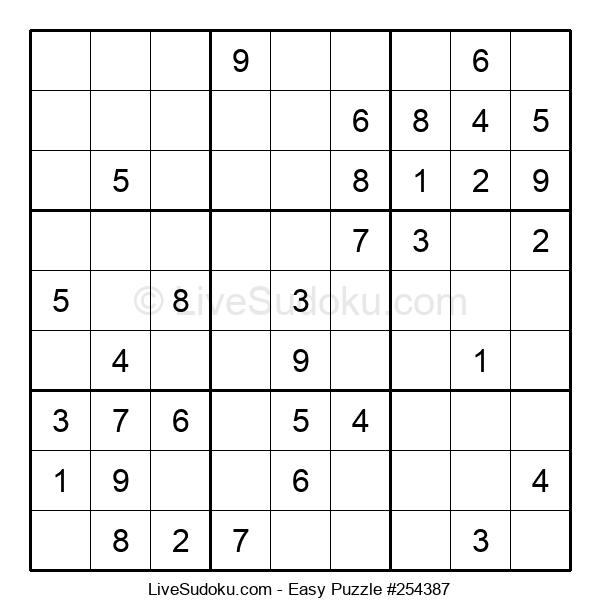 Beginners Puzzle #254387