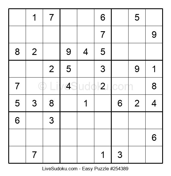 Beginners Puzzle #254389