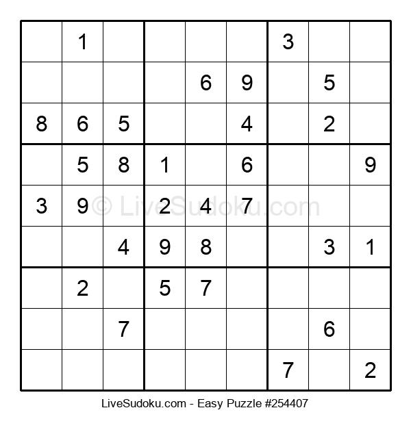Beginners Puzzle #254407