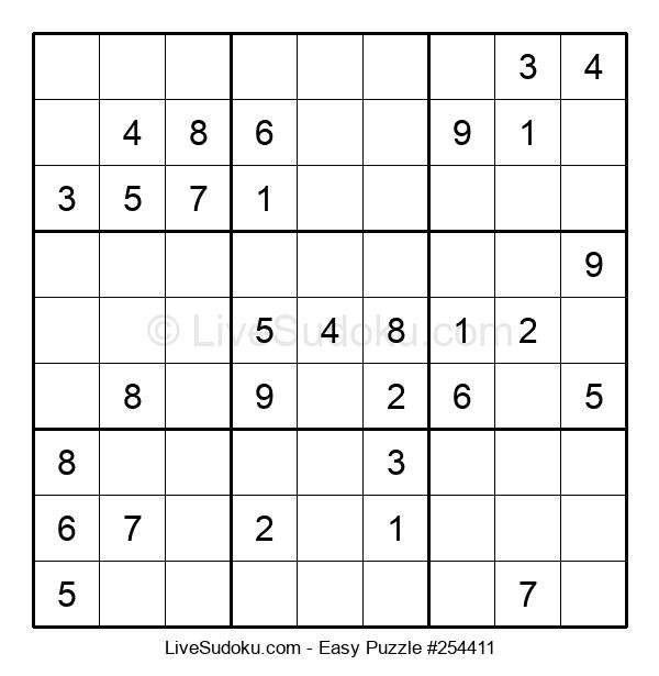 Beginners Puzzle #254411