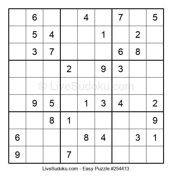 Beginners Puzzle #254413