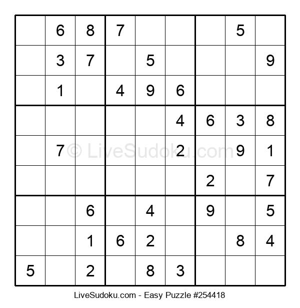 Beginners Puzzle #254418