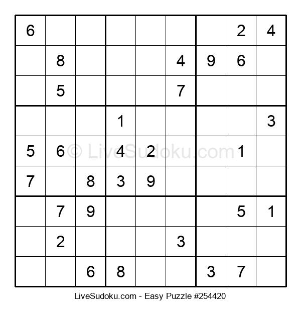 Beginners Puzzle #254420