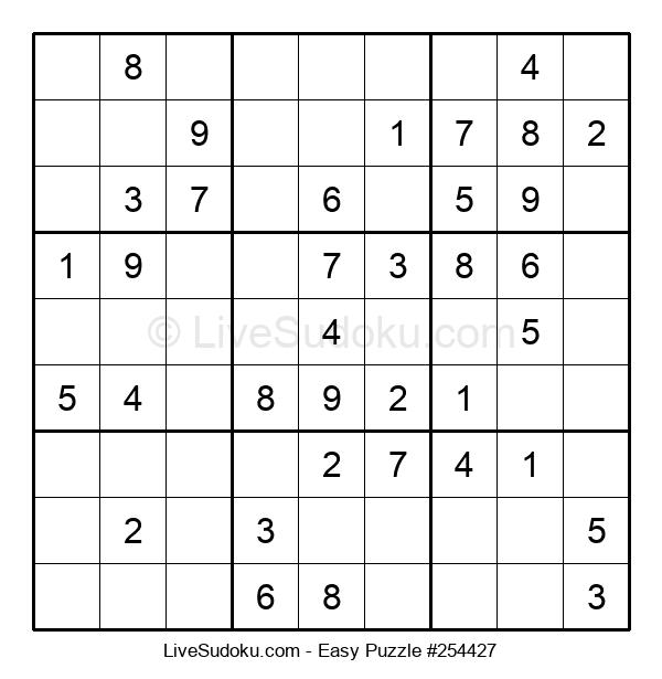 Beginners Puzzle #254427