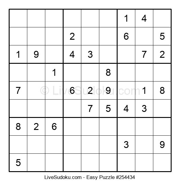 Beginners Puzzle #254434