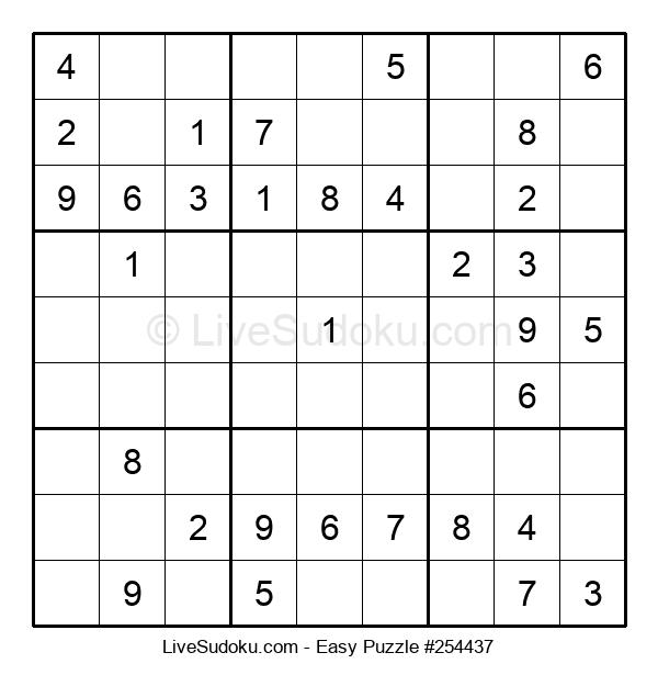 Beginners Puzzle #254437