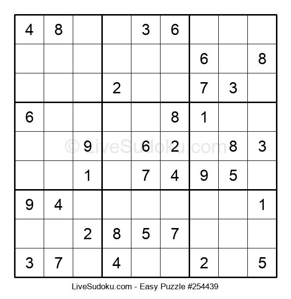 Beginners Puzzle #254439