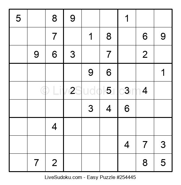 Beginners Puzzle #254445