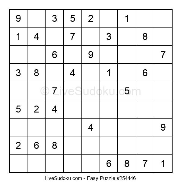 Beginners Puzzle #254446
