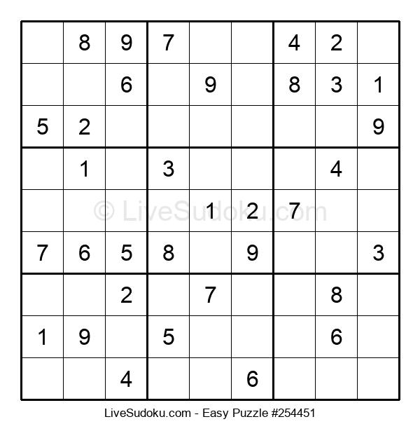Beginners Puzzle #254451