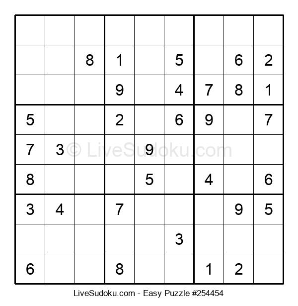 Beginners Puzzle #254454