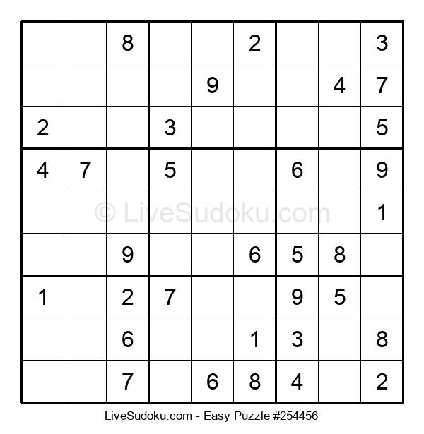 Beginners Puzzle #254456
