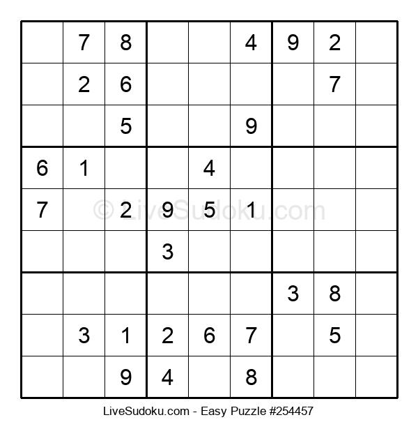 Beginners Puzzle #254457