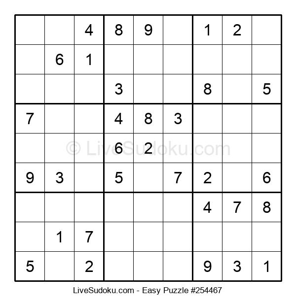 Beginners Puzzle #254467