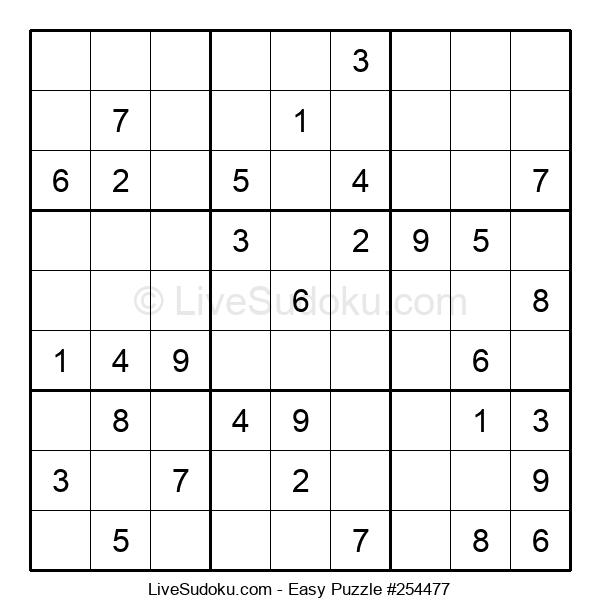 Beginners Puzzle #254477