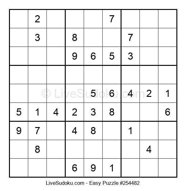 Beginners Puzzle #254482