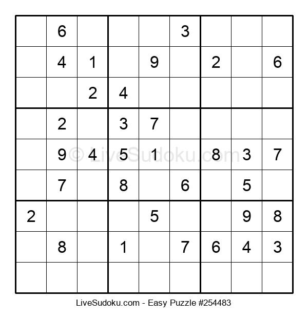 Beginners Puzzle #254483