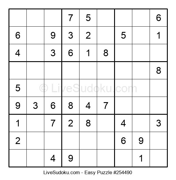 Beginners Puzzle #254490
