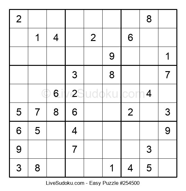 Beginners Puzzle #254500