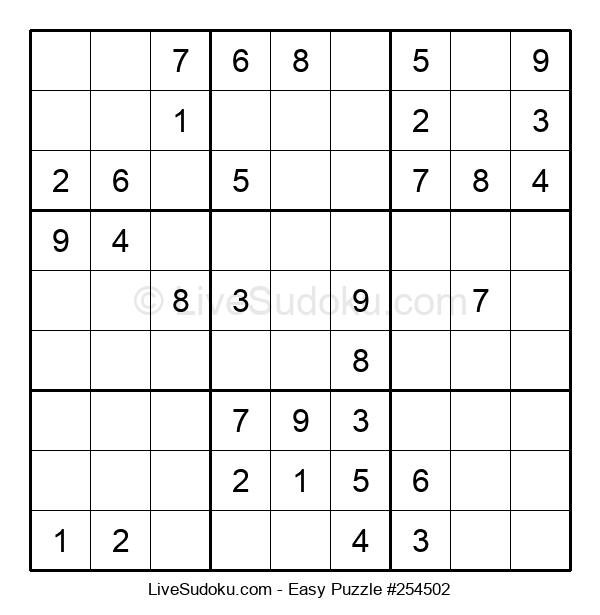 Beginners Puzzle #254502