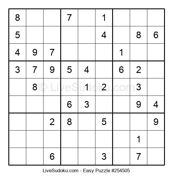 Beginners Puzzle #254505