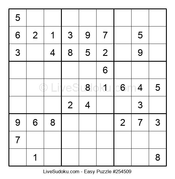 Beginners Puzzle #254509