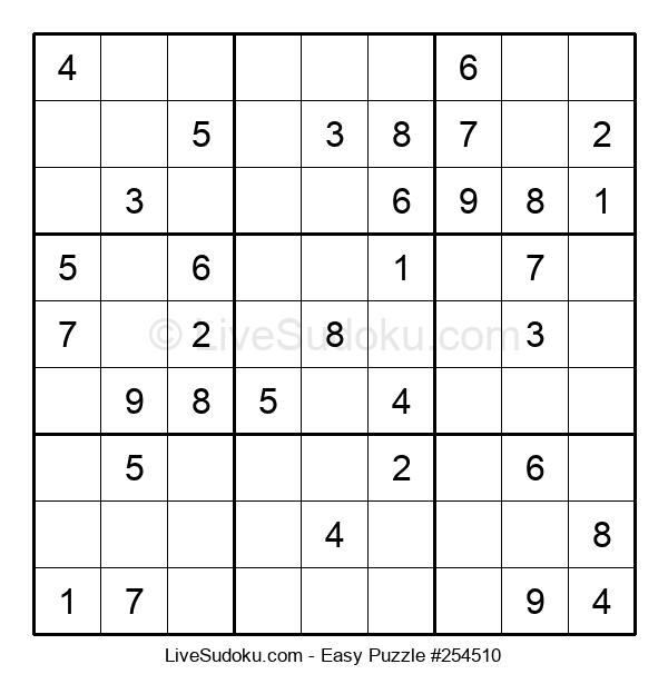 Beginners Puzzle #254510