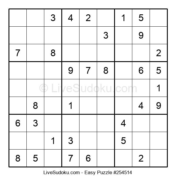 Beginners Puzzle #254514