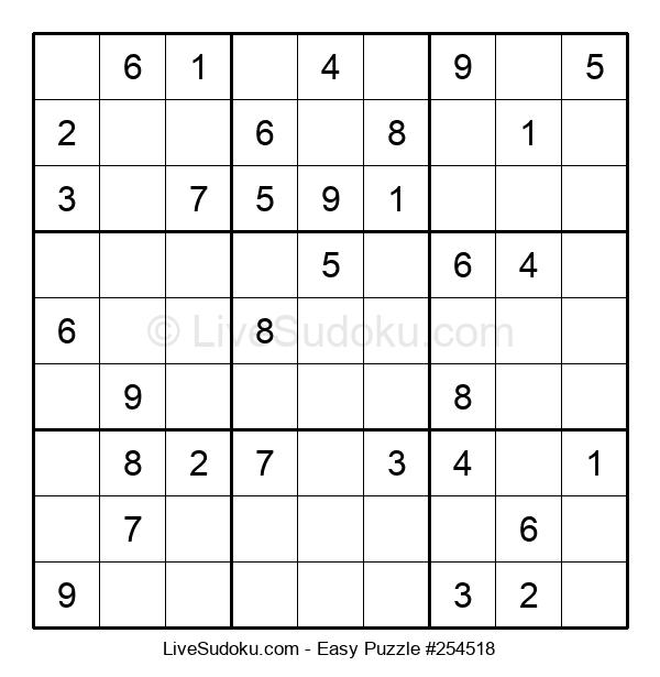 Beginners Puzzle #254518